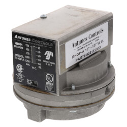 """RHGP-A Automatic Reset SPDT High Gas Pressure Switch, 10"""" to 50"""" W.C. Product Image"""