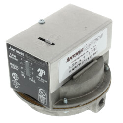LGP-H Manual Reset SPDT High Gas Pressure Switch, 1-7 PSI Product Image