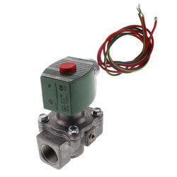 "3/4"" Normally Closed Gas Shutoff Valve, 120v (512,000 BTU) Product Image"