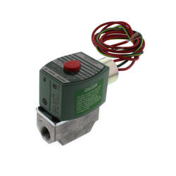 "1/4"" Normally Closed Gas Shutoff Valve, 1.1 CV (59,000 BTU) Product Image"