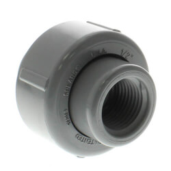 """3/4"""" CPVC Schedule<br>80 FKM Union 2000<br>(Socket x FPT) Product Image"""