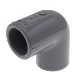 "1/2"" CPVC Schedule 80<br>90° Elbow (Socket) Product Image"