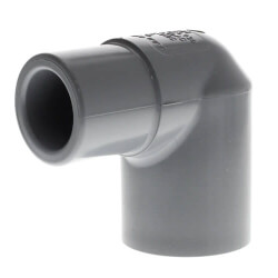 "1"" Spigot x 1"" Socket CPVC Schedule 80 90° Street Elbow Product Image"