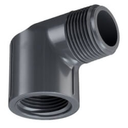 "1/4"" PVC Schedule 80 90° Street Elbow (MIPT x FIPT) Product Image"