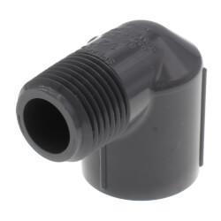 "1/2"" PVC Schedule 80 90° Street Elbow (MIPT x FIPT) Product Image"