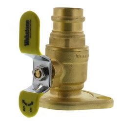 "1"" Press Full Port<br>Forged Brass Uni-Flange Isolator Flange Product Image"