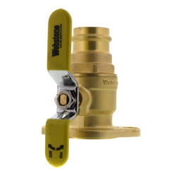 "1-1/4"" Press x Flange High Velocity Isolator w/ Rotating Flange Product Image"