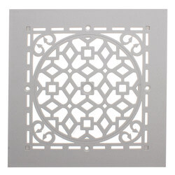 "GRASW White Antique Grille Only (6"" x 6"") Product Image"