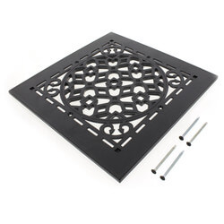 "GRAB Black Antique Grille Only (8"" x 8"") Product Image"
