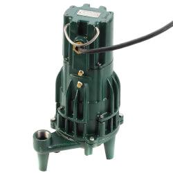 E820 Single Directional Manual Grinder Pump (230V, 2 HP, 13.7 Amp) Product Image