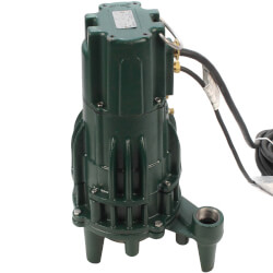 WD820 Single Directional Auto Grinder Pump<br>(230V, 2 HP, 13.7 Amp) Product Image
