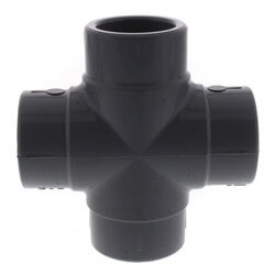 "3/4"" CPVC Schedule 80 Cross (Socket) Product Image"