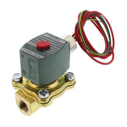 "3/8"" NPT Normally Closed Solenoid Valve Product Image"