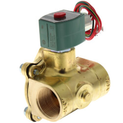 "1-1/4"" Normally Closed Solenoid Valve, 15 CV (120v) Product Image"