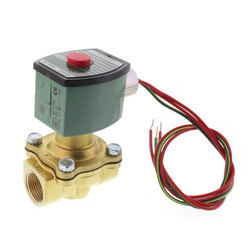 """3/4"""" Normally Open Solenoid Valve, 5.5 CV (120v) Product Image"""