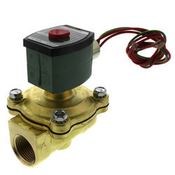 """1"""" Normally Closed Solenoid Valve, 13 CV (120v) Product Image"""