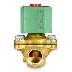 "1/4"" NPT Normally Closed 2-Way Solenoid Valve (110/50AC) Product Image"