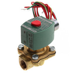 "1/2"" Normally Closed Solenoid Valve, LP (120v) Product Image"