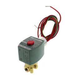 "1/8"" Normally Closed Solenoid Valve (120v) Product Image"