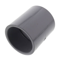 "3/8"" CPVC Schedule 80 Coupling (Socket) Product Image"