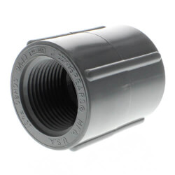 "3/8"" CPVC Schedule 80 Coupling (FPT) Product Image"