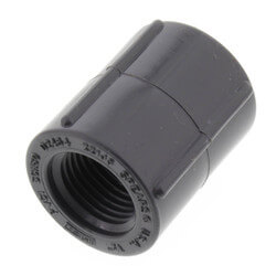 """1/2"""" PVC Schedule<br>80 Coupling (FPT) Product Image"""