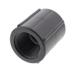 """1"""" PVC Schedule<br>80 Coupling (FPT) Product Image"""