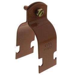 """1-1/2"""" Copper-Gard<br>Multi-Strut Pipe Clamp (Copper Epoxy Coated) Product Image"""