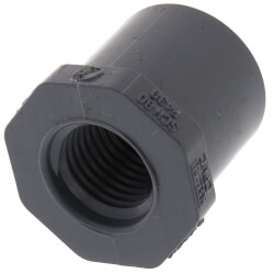 "1/2"" x 1/4"" CPVC Schedule 80 Flush Style Reducer Bushing (Spigot x FIPT) Product Image"