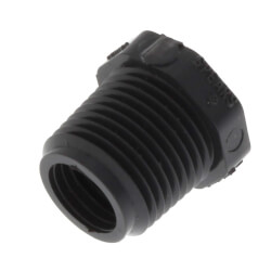"1/4"" x 1/8"" PVC Sch. 80 Flush Style Reducer Bushing (MPT x FPT) Product Image"