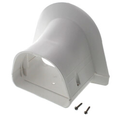 """4.5"""" Soffit Inlet - LP122W (White) Product Image"""