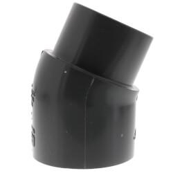 "2"" PVC Schedule 80 22.5° Street Elbow (Spigot x Socket) Product Image"