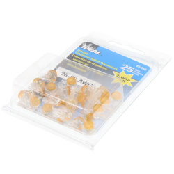 UY-I 2-Wire Butt Splice IDC Connector (Box of 25) Product Image