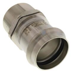 "2-1/2"" ProPress 304 SS Male Adapter w/ FKM<br>(P x MNPT) Product Image"