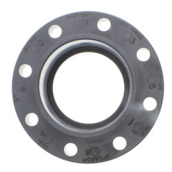"3/4"" CPVC Schedule 80 Van Stone Flange w/ Plastic Ring (Socket) Product Image"