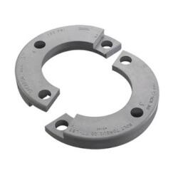 "3"" GFPVC Sch. 80 Van Stone Split Flange Ring w/ 2 Halves Product Image"