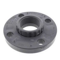 "1-1/4"" CPVC Schedule 80 Van Stone Flange w/ Plastic Ring (FIPT) Product Image"