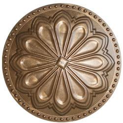 "6"" Hermosa Flat Cleanout Cover (Beachnut Bronze) Product Image"