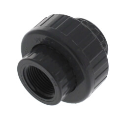 """1"""" PVC Sch. 80 Union With Viton O-Ring Seal<br>(S x FPT) Product Image"""