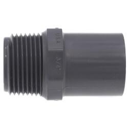 "3/4"" CPVC Schedule 80 Male Adapter<br>(Spigot x MIPT) Product Image"