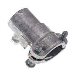 """1/2"""" Zinc EMT Set-Screw to Flexible Conduit Combination Coupling Product Image"""