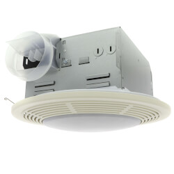 "8664RP Vent Fan w/ Light<br>4"" Round Duct (100 CFM) Product Image"