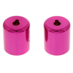 "R410 1/4"" Novent Locking Refrigerant Caps, Pink (2 Pack) Product Image"