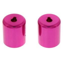 "R410 1/4"" Novent Locking Refrigerant Caps, Pink (2 Pack) Product Image"