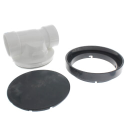 "3"" PVC ProCheck Backwater Valve w/ 16"" Shallow Access Sleeve Kit Product Image"