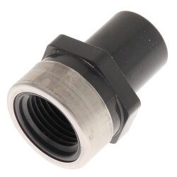 """1/2"""" PVC SCH 80 Special Reinforced Female Adapter (SPG x SR FPT) Product Image"""