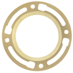 Deep Seal Brass<br>Closet Flange Ring Product Image