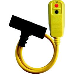 Right Angle Tri-Tap Portable GFCI Product Image