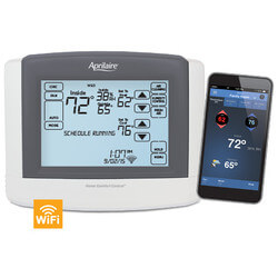 Programmable 3H/3C or 4H/2C Heat Pump Tstat (Touchscreen, Wi-Fi) Product Image