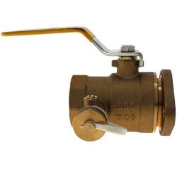 "1-1/4"" Sweat Circulator Isolation Flange w/ Purge, 600 psi Product Image"